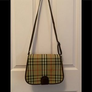 Sold.Sale!!!  Authentic Burberry crossbody handbag